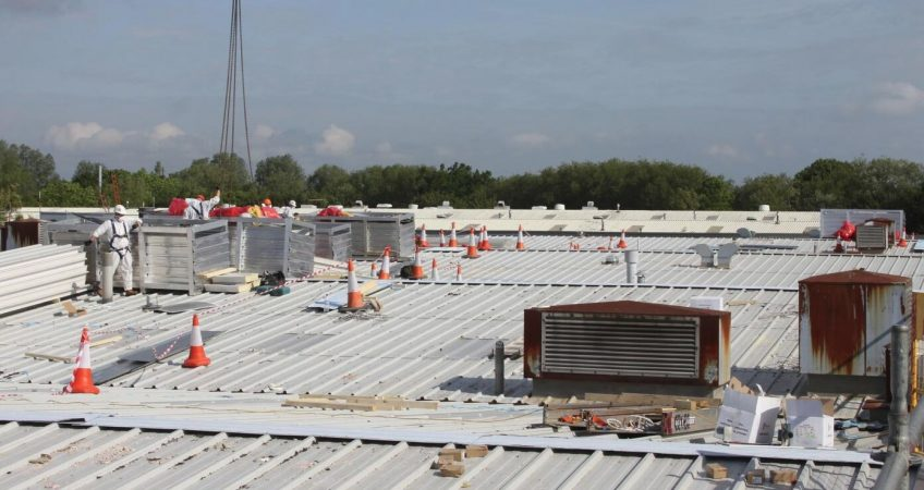 Take care of your industrial roof