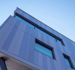 Close up of quality cladding
