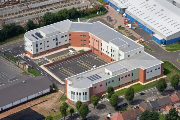 The roofing and cladding of City College Birmingham
