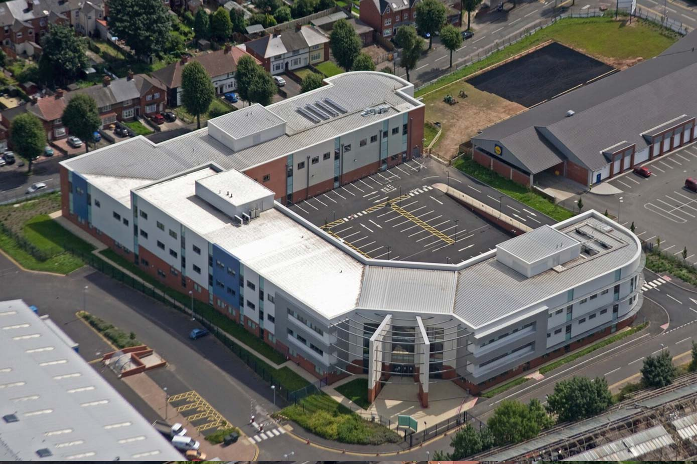 Exterior view of City College Birmingham