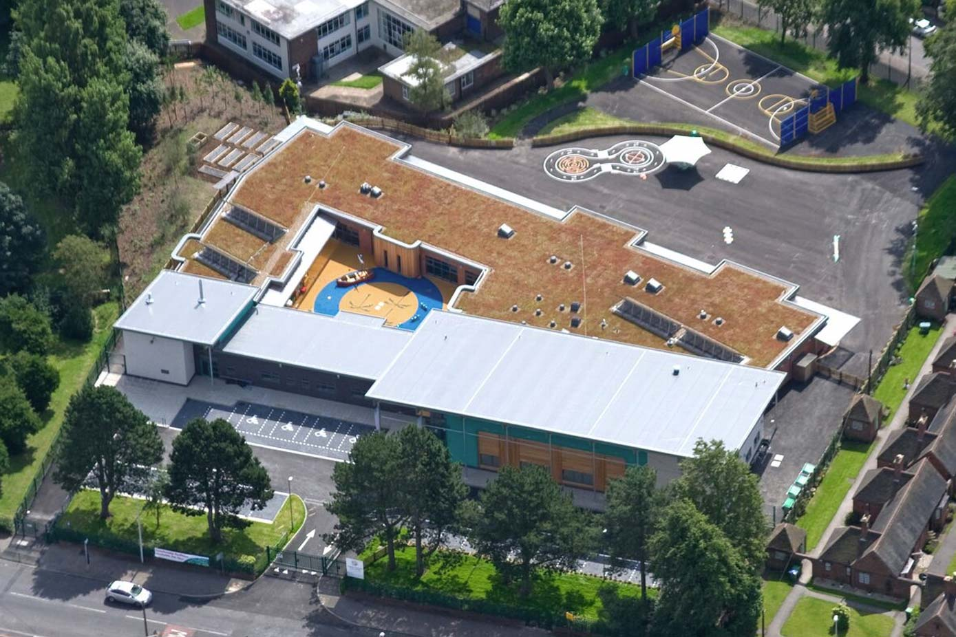 Crocketts Primary school installed a green roof