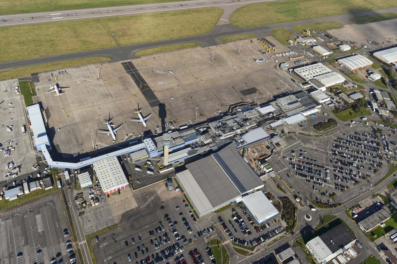 Sage Roofing worked with East Midlands Airport