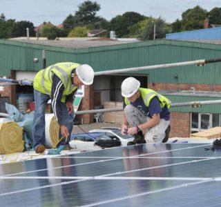 PV Solar Panel Roof