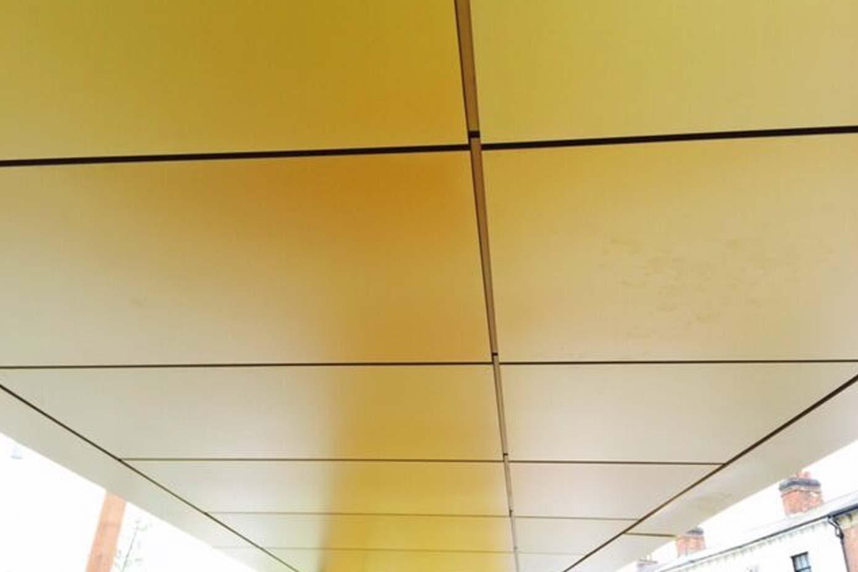 golden square birmingham ceiling