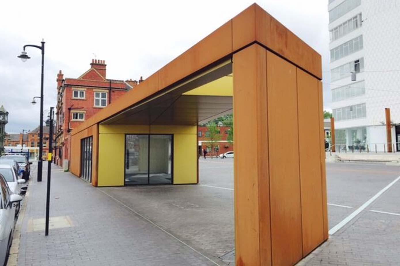 golden square birmingham construction