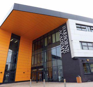 Harborne Academy entrance