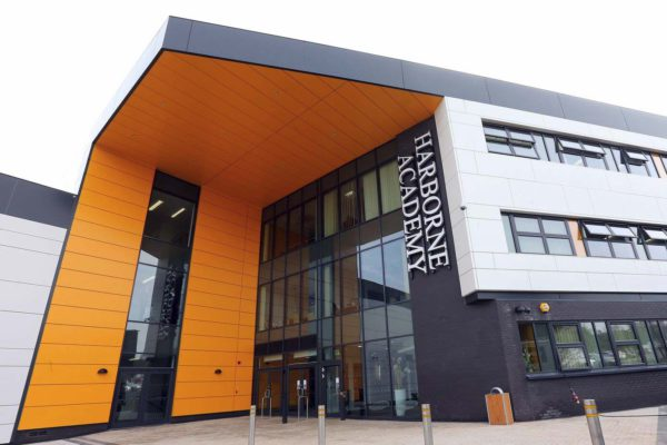 Harborne Academy entrance
