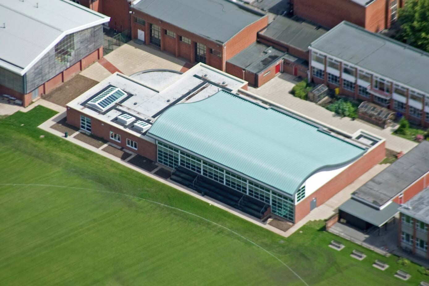 School roofing project