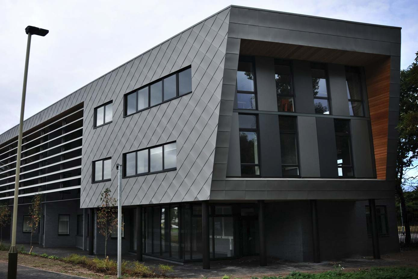 Sage Roofing project, Leicester Science Park