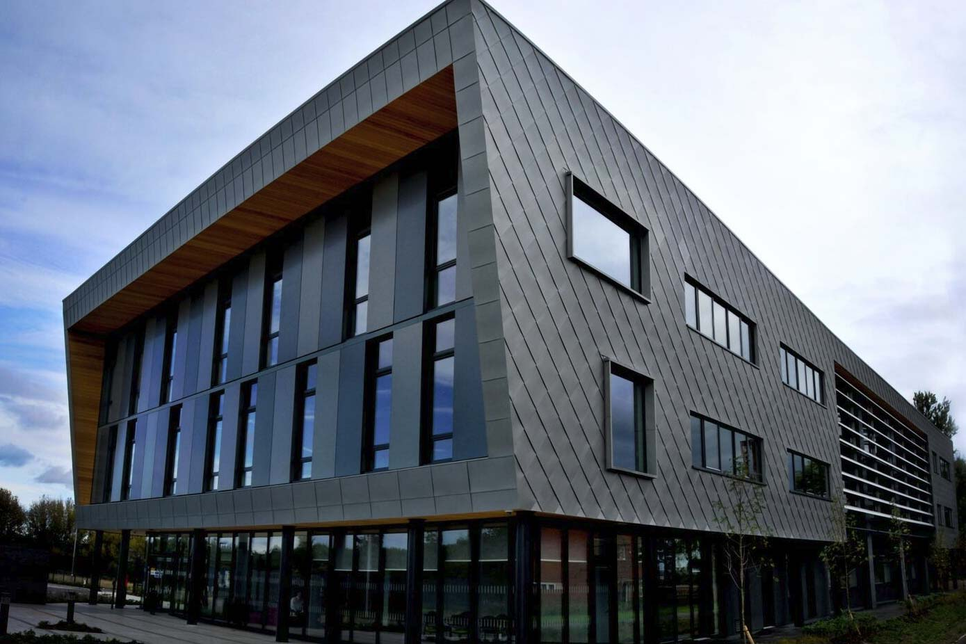 Leicester Science Park cladding