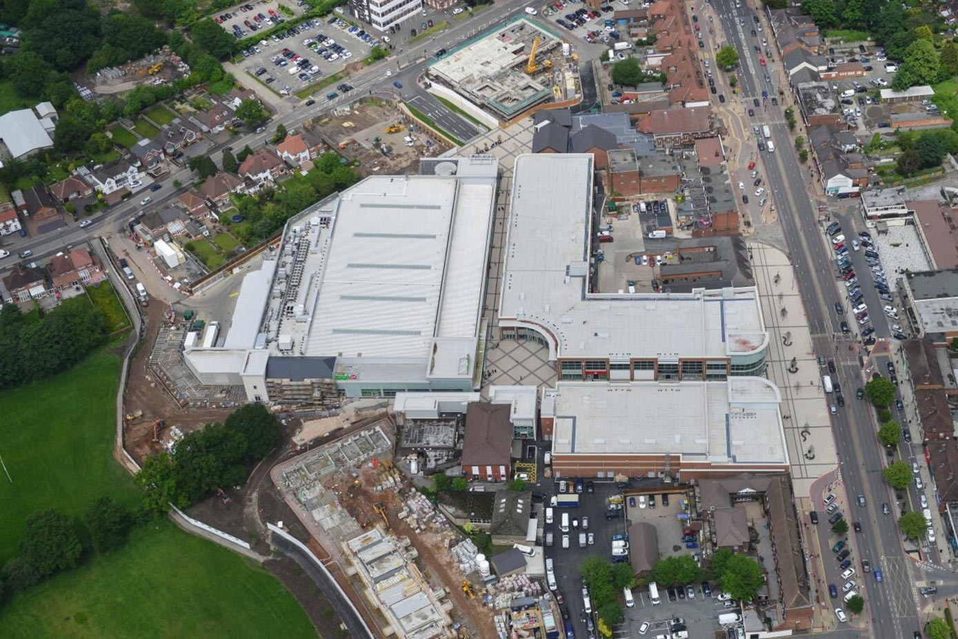Regate Retail Centre from above