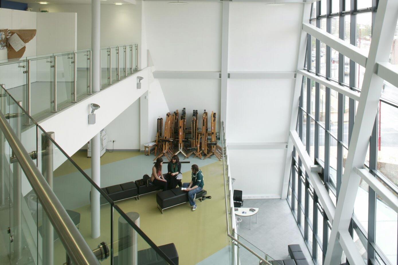 Inside Stourbridge College