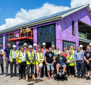 Sage Roofing are currently working on a NFP project called the 'Get Busy Living Centre' in Melton Mowbray for the Matt Hampson Foundation.