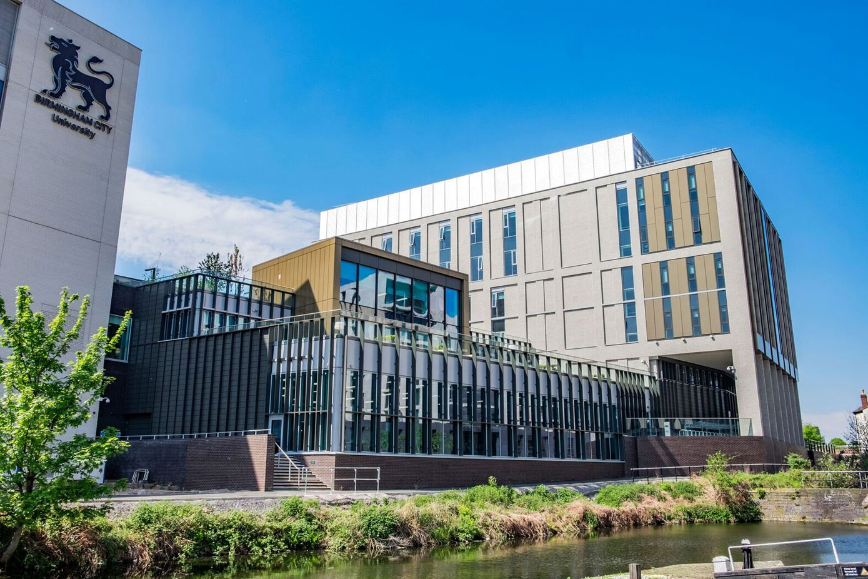 Birmingham City University finished building