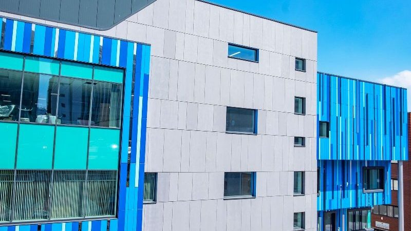 Striking Rainscreen Cladding installation