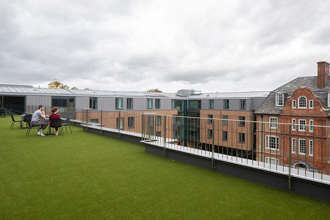 kebble college rooftop